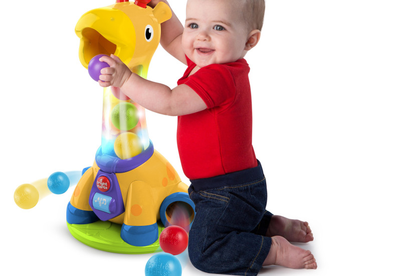 Spin & Giggle Giraffe™ - great for young toddlers