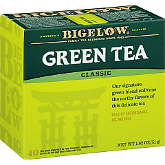 Green Tea 40 count - Case of 6 boxes- total of 240 teabags