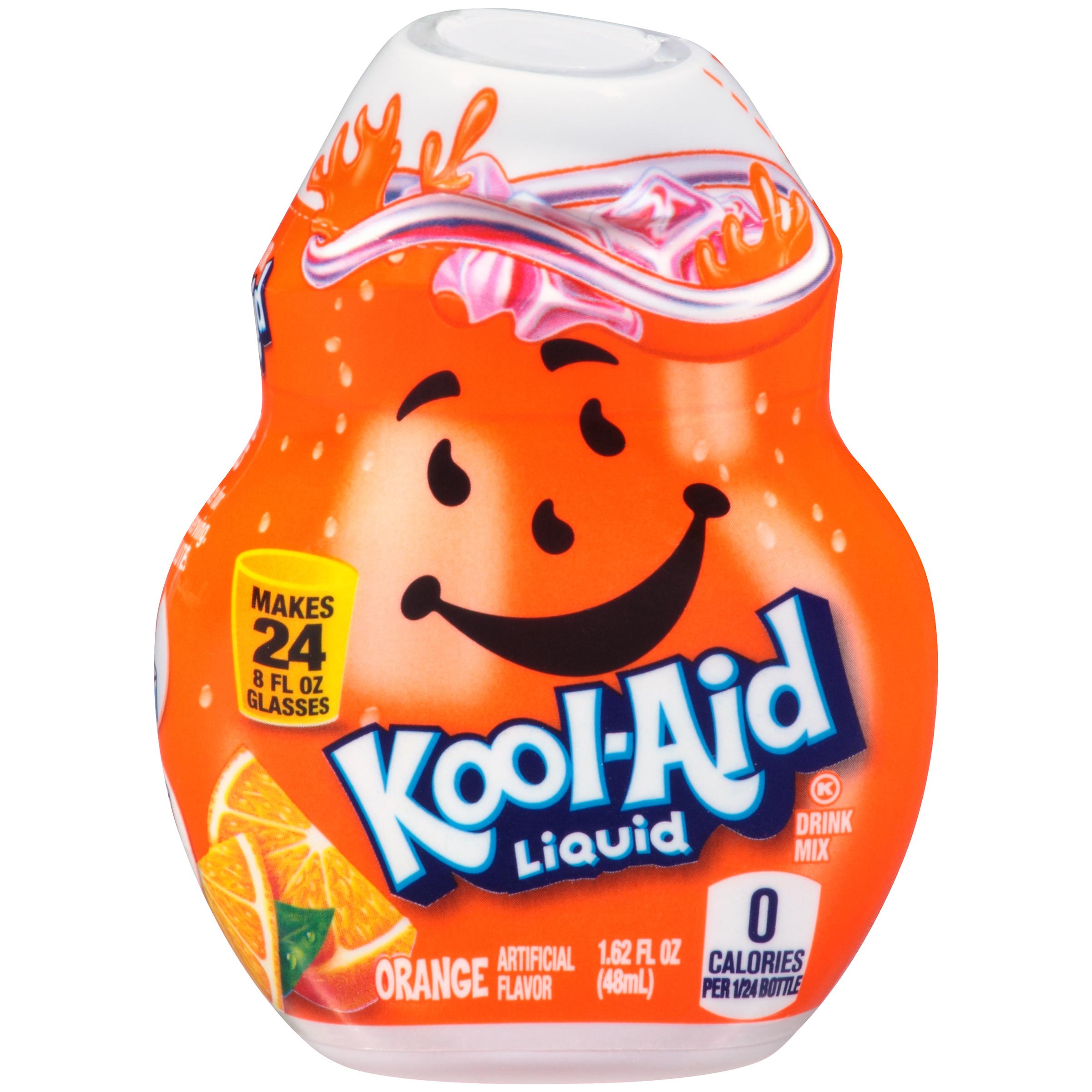 KOOL-AID Orange Liquid Drink Mix 1.62 fl oz Bottle image