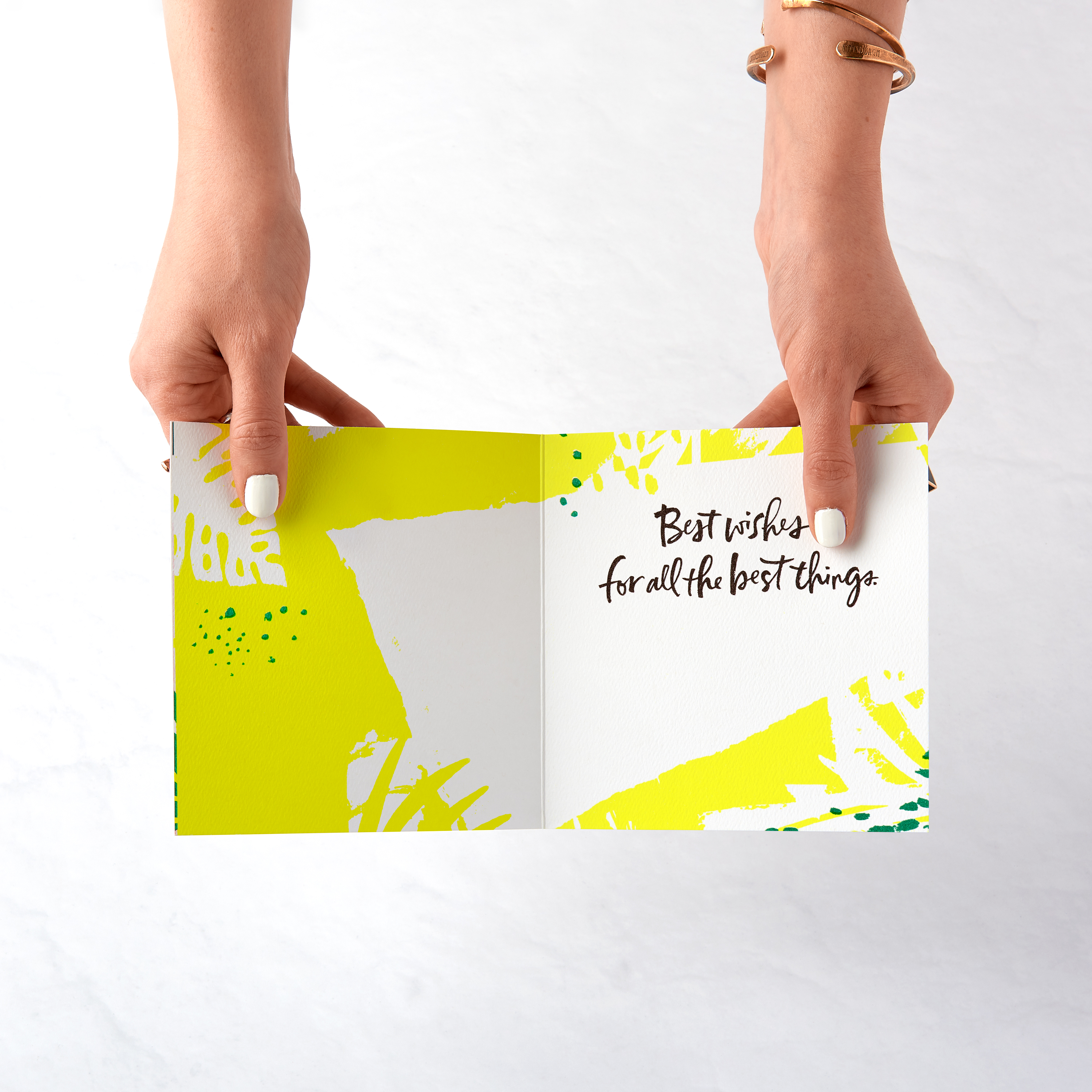 Best Wishes Greeting Card - Congratulations, Graduation, New Job, Promotion, New Home image