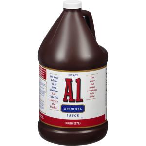 A.1. Steak Sauce, 1 gal. Jugs (Pack of 2) image