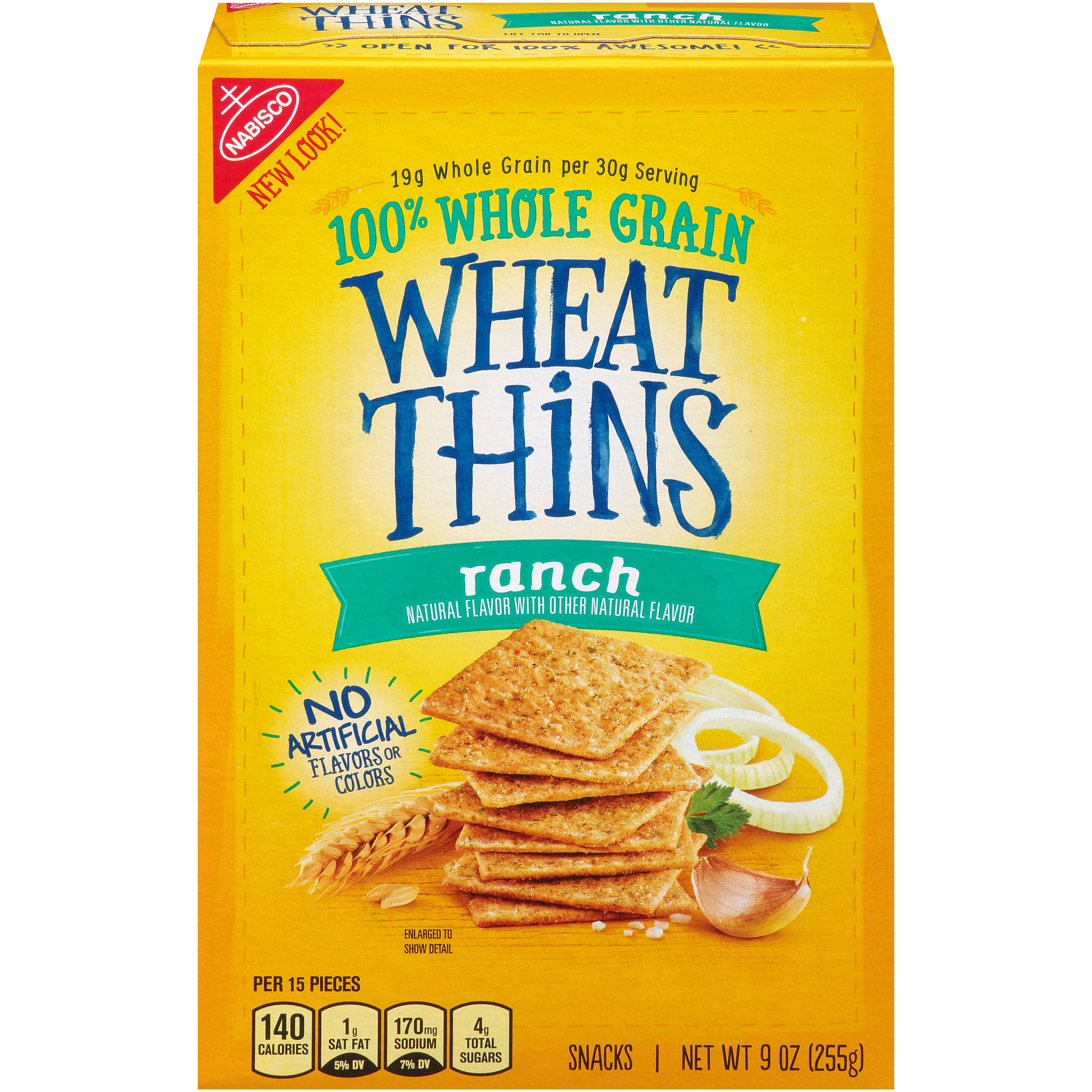 WHEAT THINS Ranch Crackers 9 oz