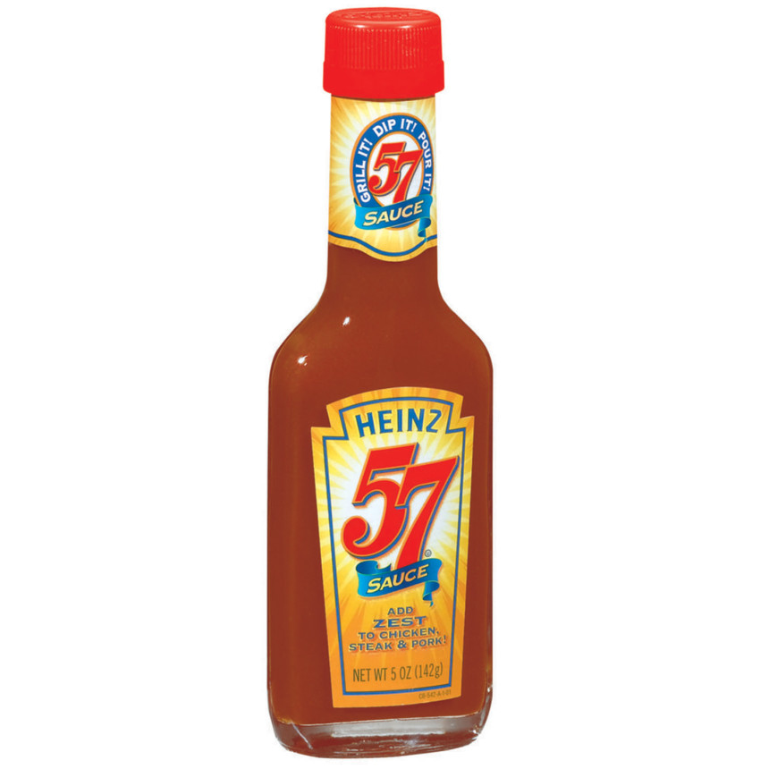 Heinz 57  Steak Sauce 5 Oz Glass Bottle