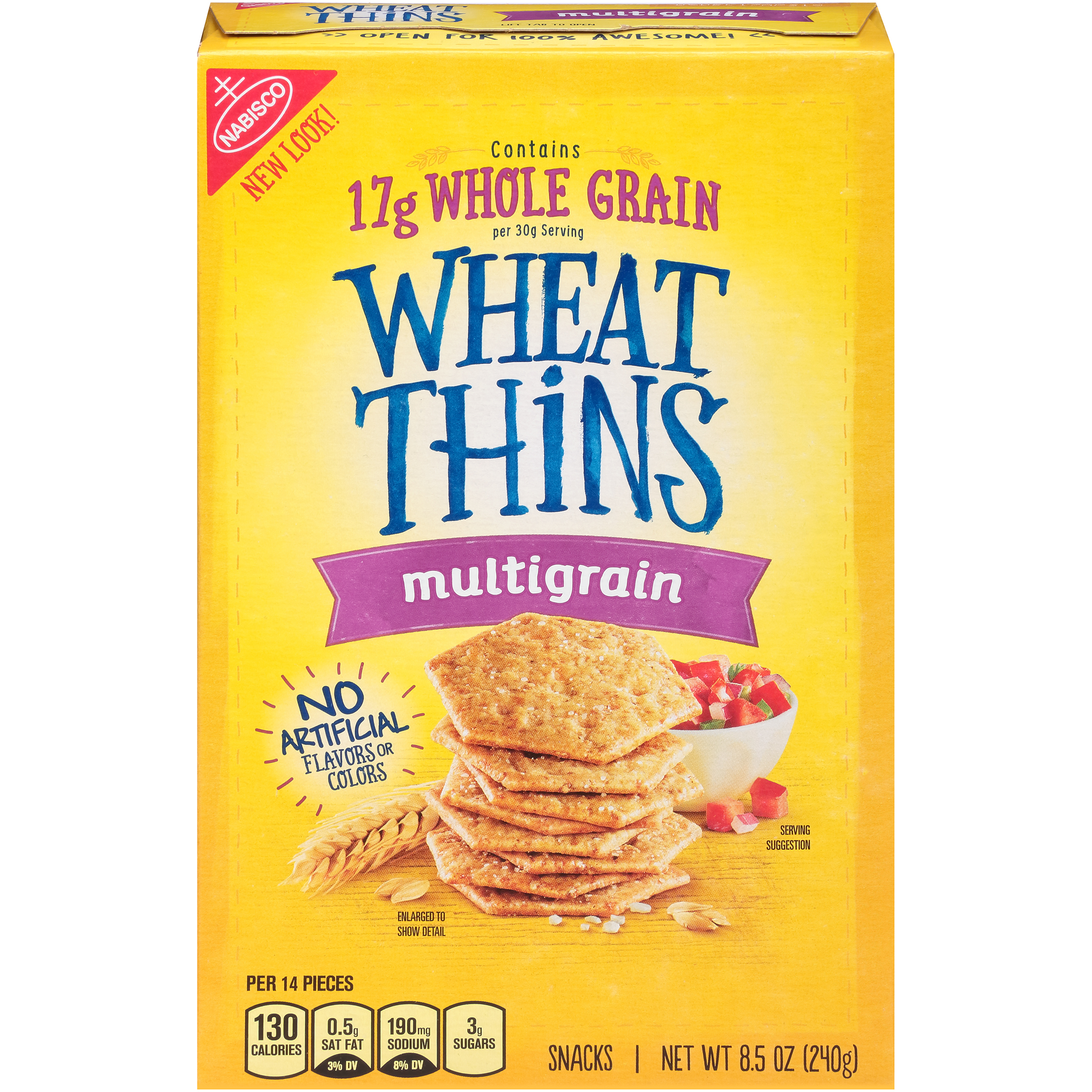 WHEAT THINS Multigrain Crackers 8.5 oz