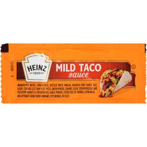 HEINZ Single Serve Mild Taco Sauce, 9 gr. Packets (Pack of 200) image