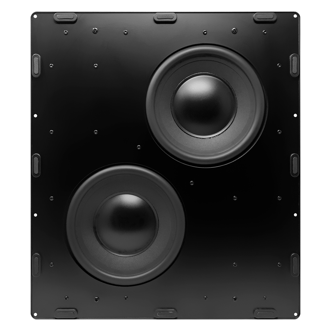 """Dual 8"""" In-Wall Subwoofer Wave Electronics"""