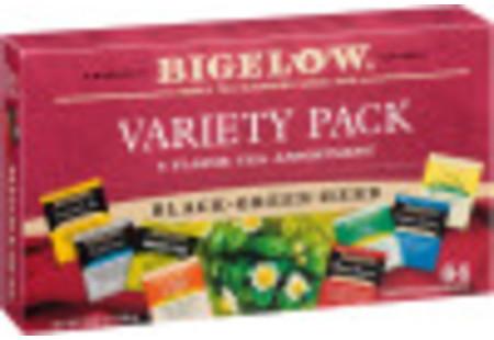Fine Tea & Herbal Tea Buy 5 Get 1 Free - total of 384 teabags