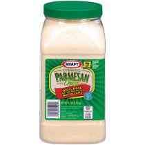 Kraft 100% Grated Parmesan Cheese 4.5 lb Jar