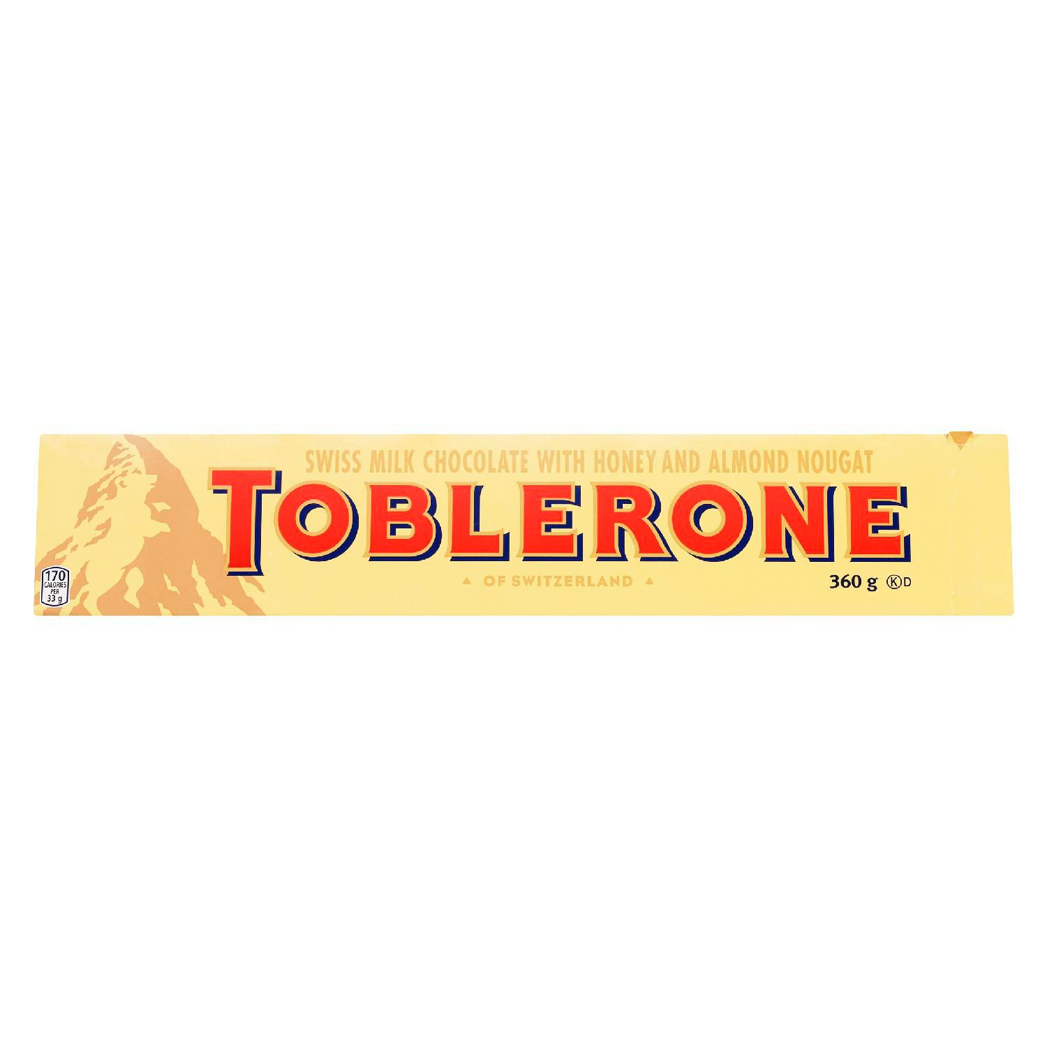 Toblerone Milk Chocolate Bar 360 G