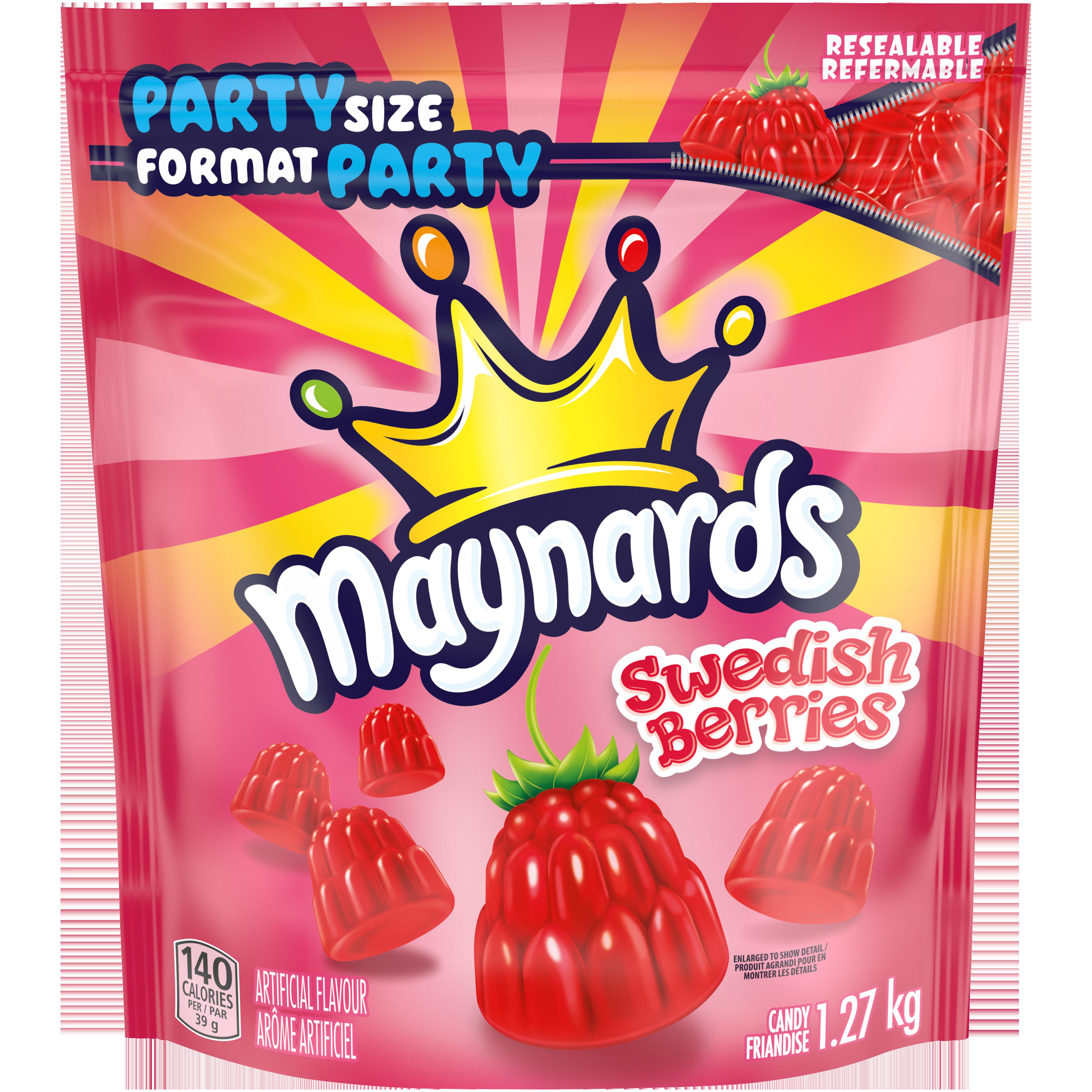 MAYNARDS SWEDISH BERRIES 1.27KG
