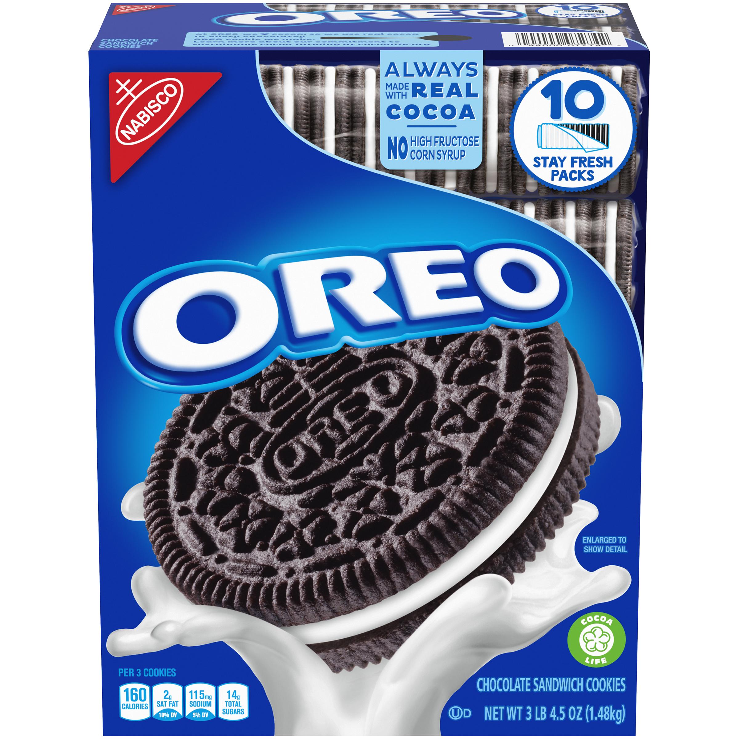 OREO Cookies 52.5 oz