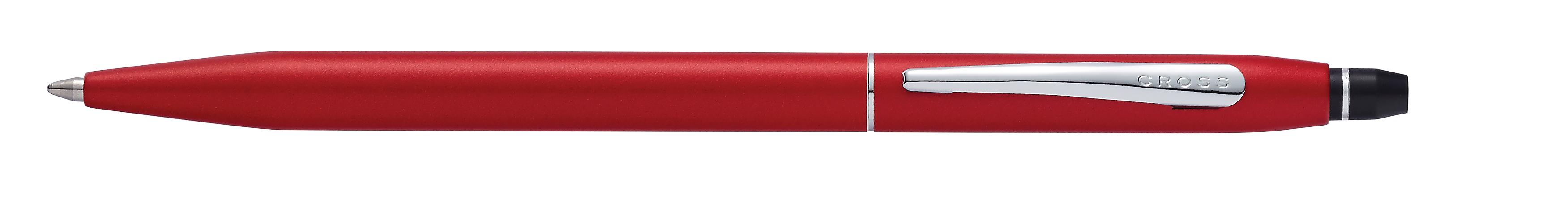 Click Crimson Red Lacquer Ballpoint Pen
