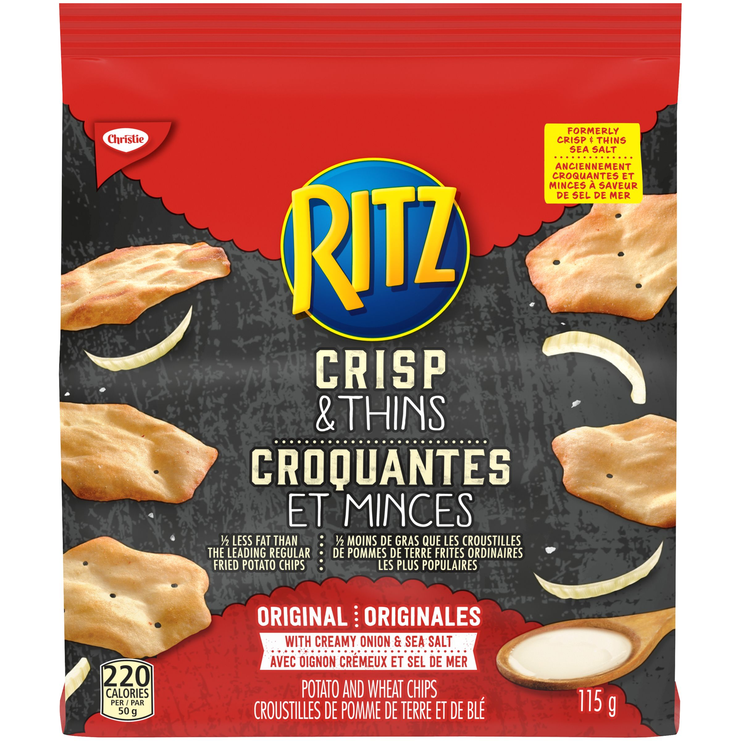 RITZ Crisp & Thin SEA SALT 115 GRM