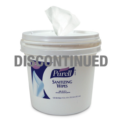 PURELL® Sanitizing Wipes - DISCONTINUED