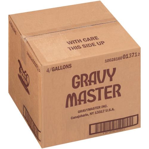 GRAVYMASTER Caramelizing & Browning Seasoning Sauce, 1 gal. Bag (Pack of 4)