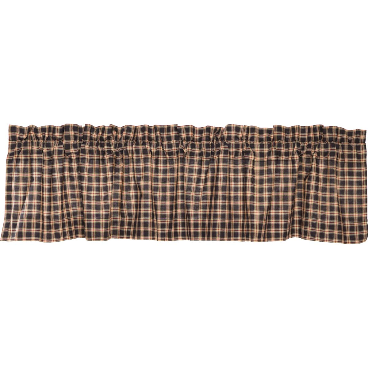 Bingham Star Valance Plaid 16x72