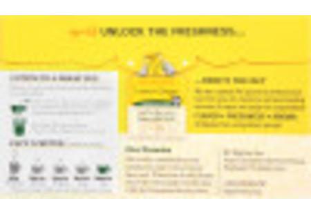 Lemon Ginger Herbal Tea + Probiotics - Case of 6 boxes - total of 108 tea bags
