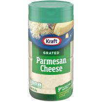 Kraft 100% Grated Parmesan Cheese Shaker 8 oz Bottle