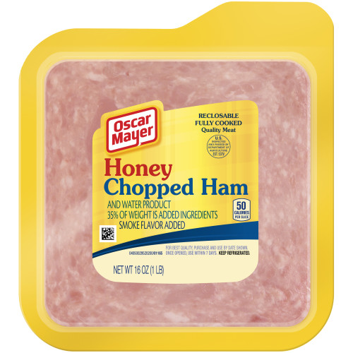 Oscar Mayer Honey Chopped Ham, 16 oz
