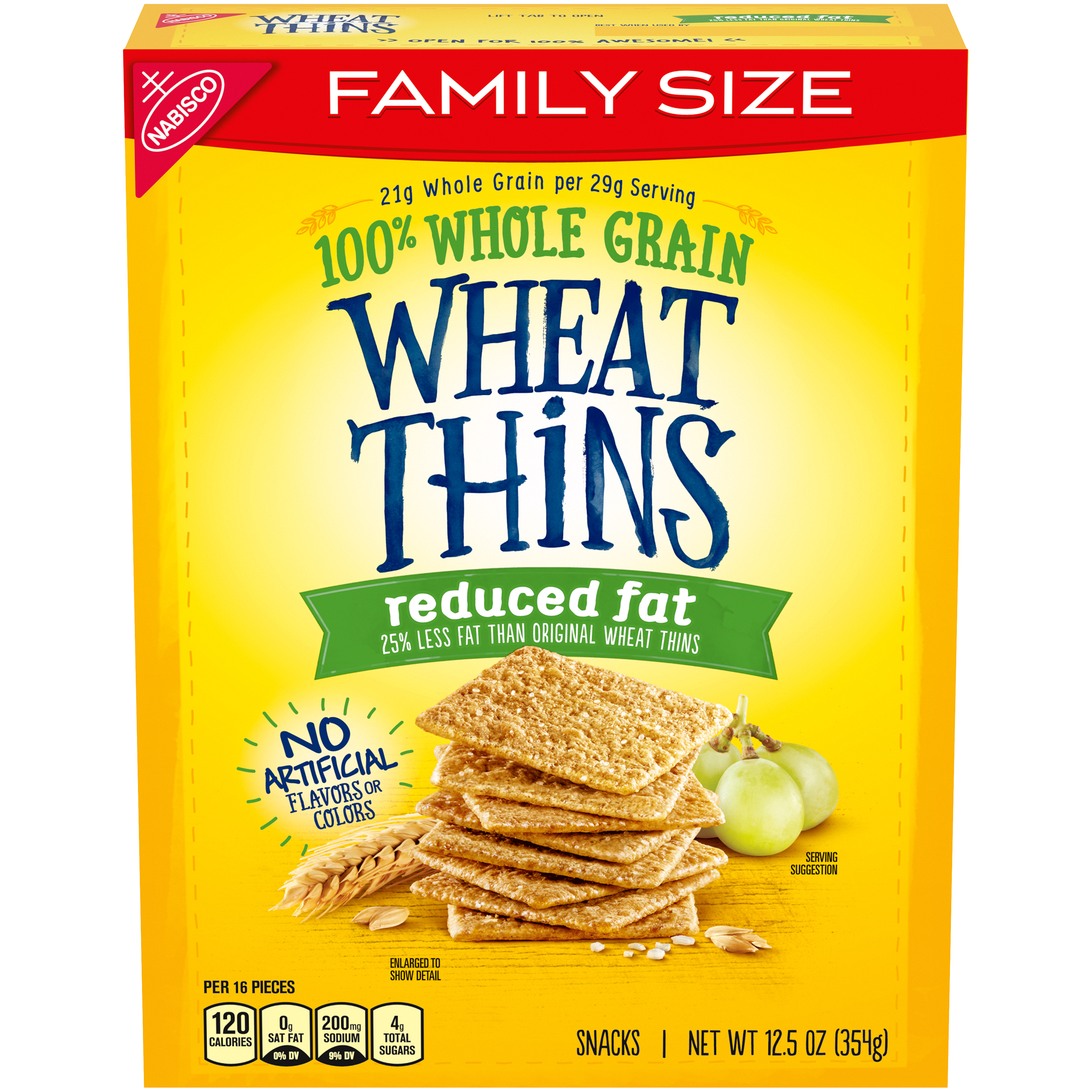 WHEAT THINS Original Crackers 12.5 Oz