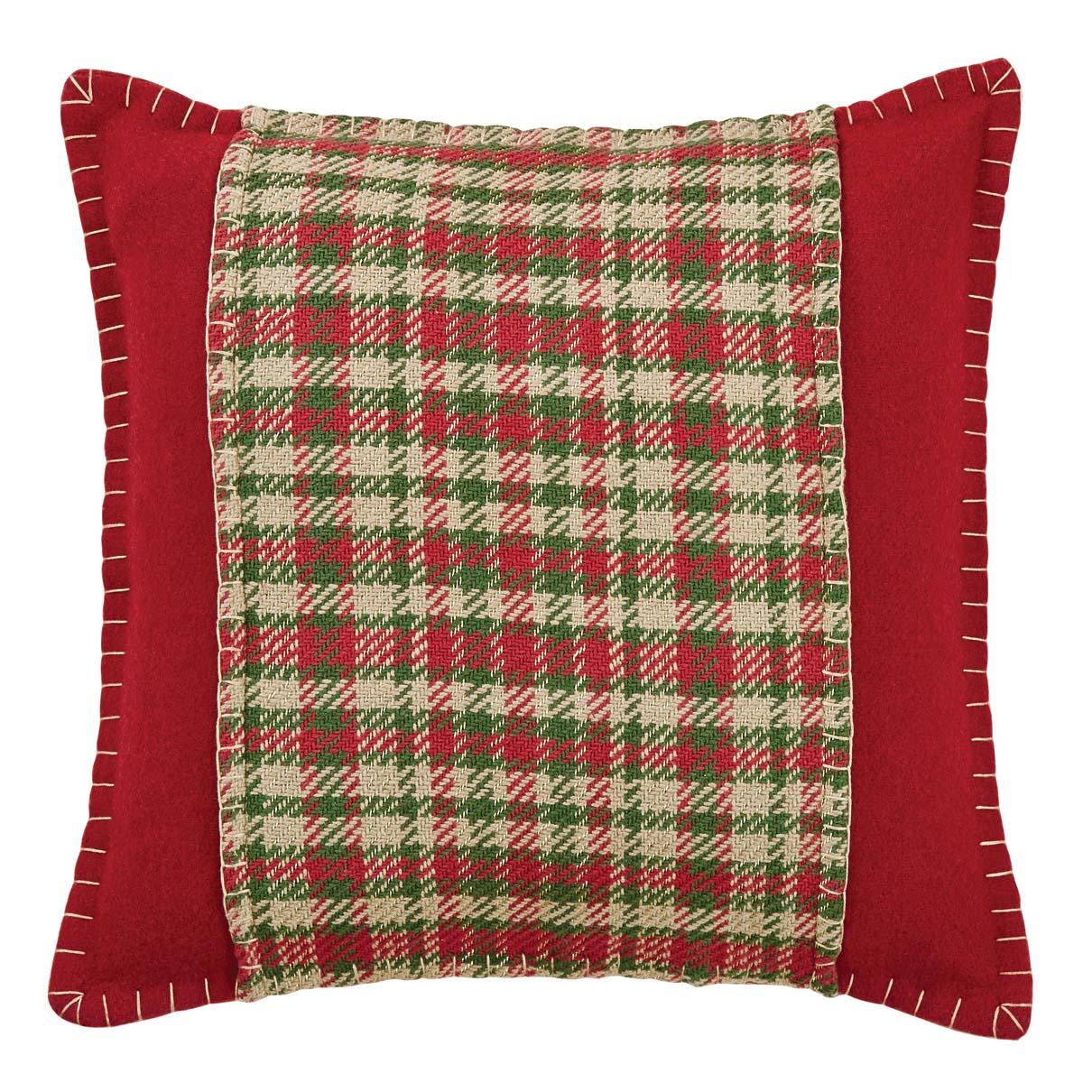 Claren Appliqued Pillow 16x16