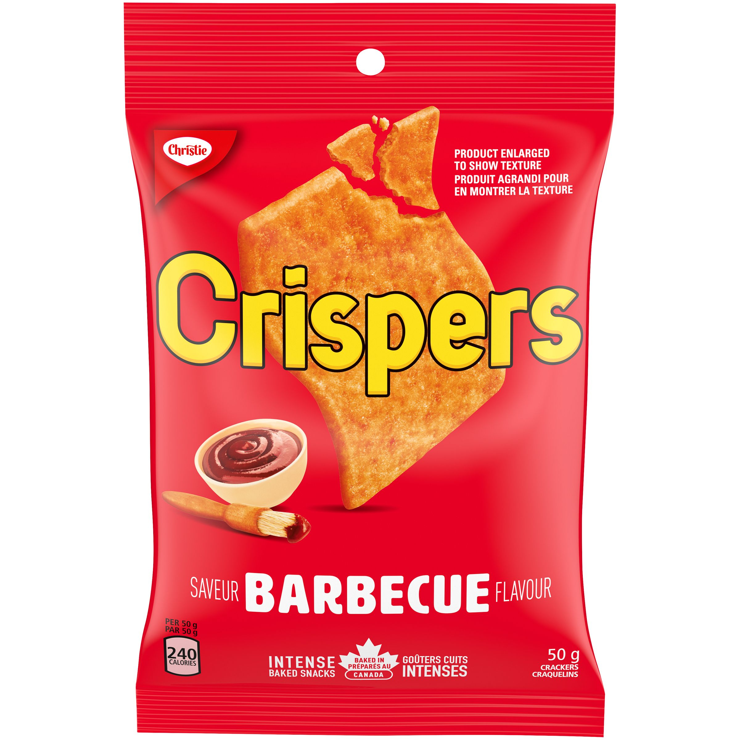 Crispers Barbecue Crackers 50 G