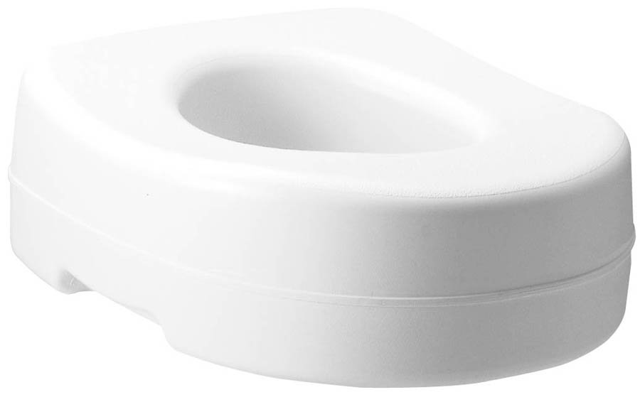 Carex Raised Toilet Seat 5-1/2 Inch Height White 300 lbs. Weight Capacity 300 lbs. Weight Capacity, FGB302C0 0000 - EACH