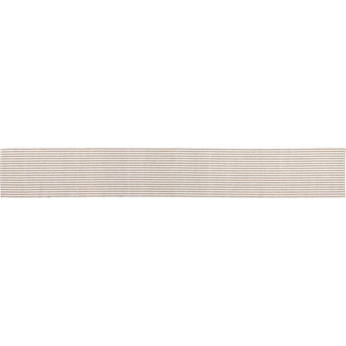 Harmony Taupe Ribbed Runner 13x72