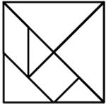 Tangrams square