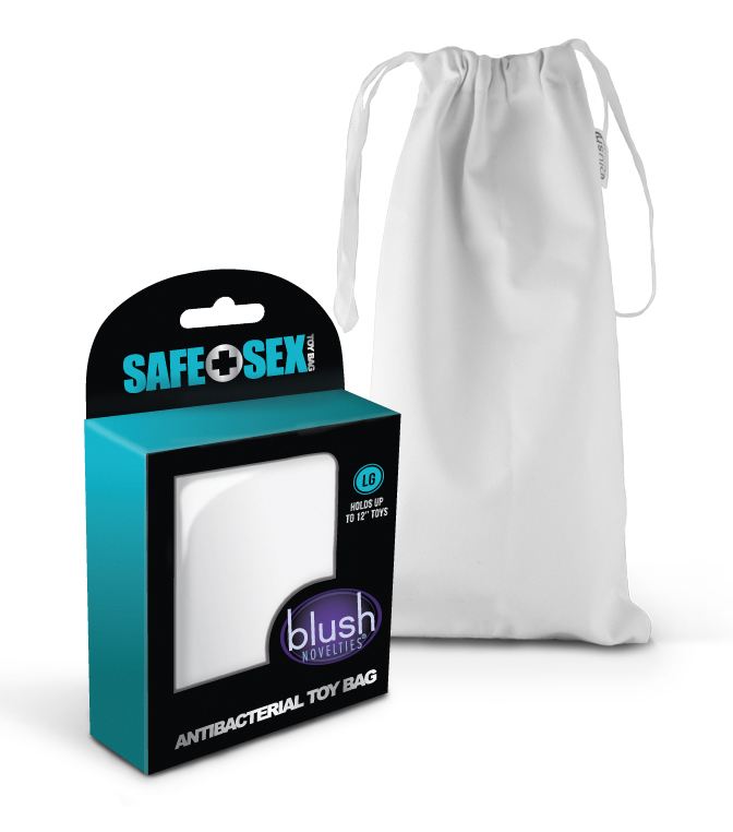 Safe Sex - Antibacterial Toy bag - Large Size