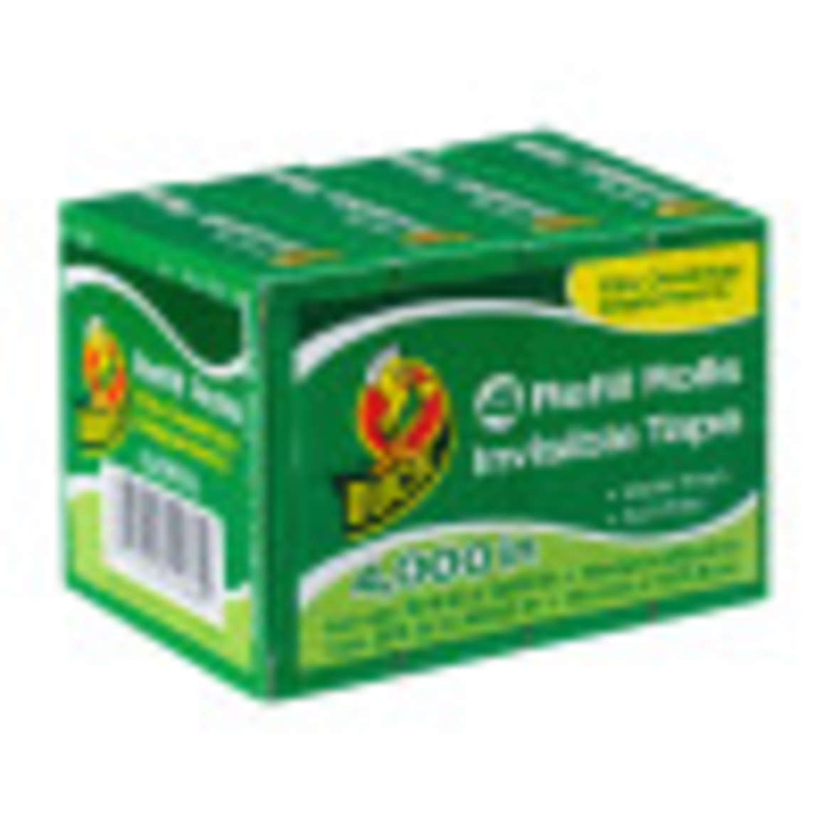Duck® Brand Matte Finish Invisible Tape Refill Pack - Clear, 4 pk, .75 in. x 1000 in. Image