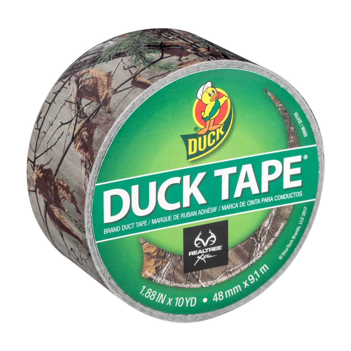 Realtree® Camo Duck Tape® Brand Duct Tape - Xtra, 1.88 in. x 10 yd. Image