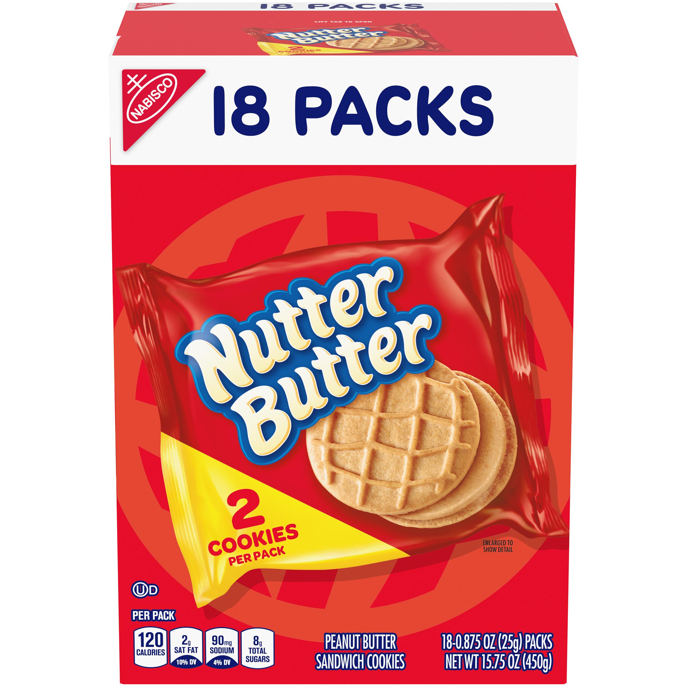 NUTTER BUTTER Original Cookies 15.75 oz