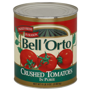 Bell'Orto Crushed Tomato Puree, 105 oz. image