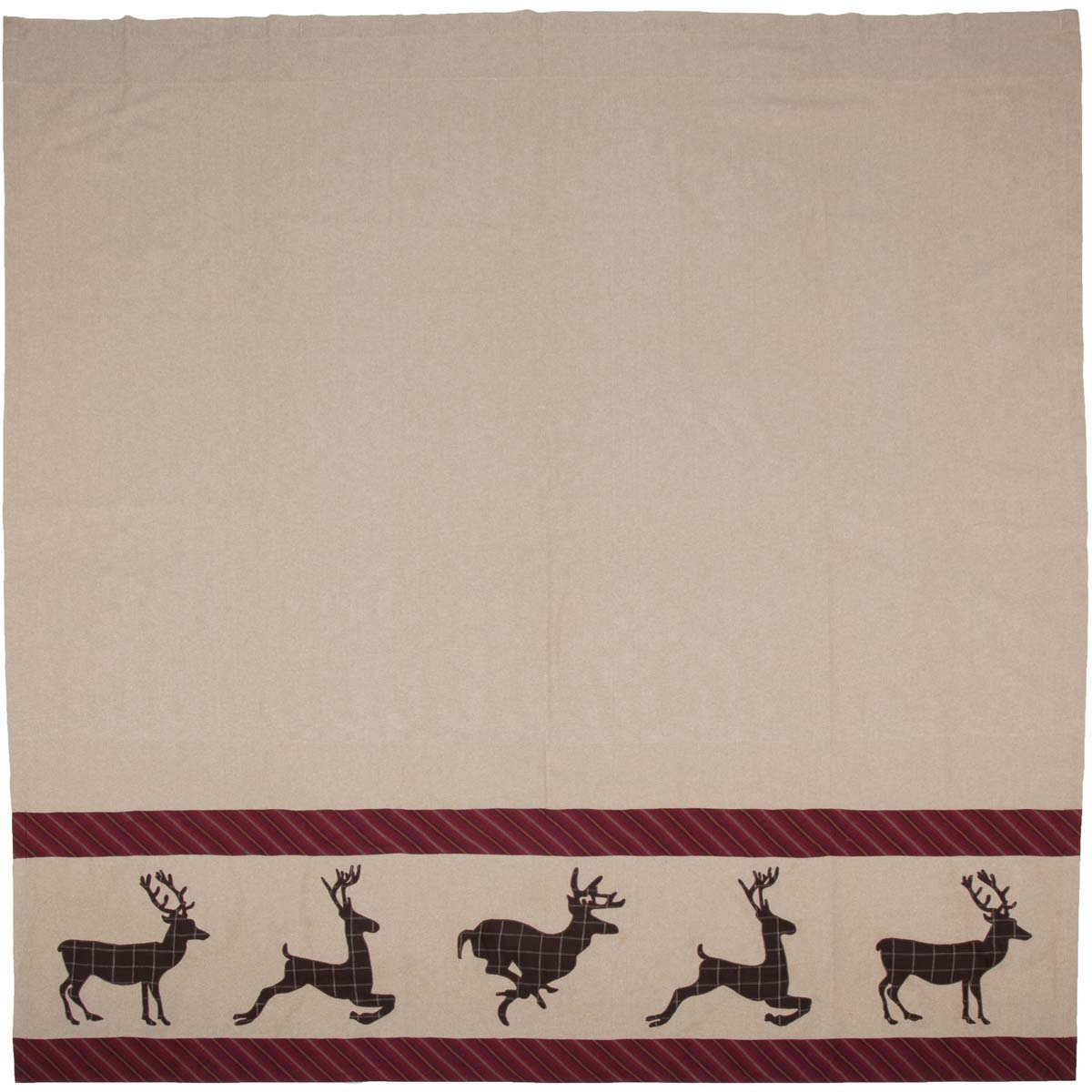 Wyatt Deer Shower Curtain 72x72