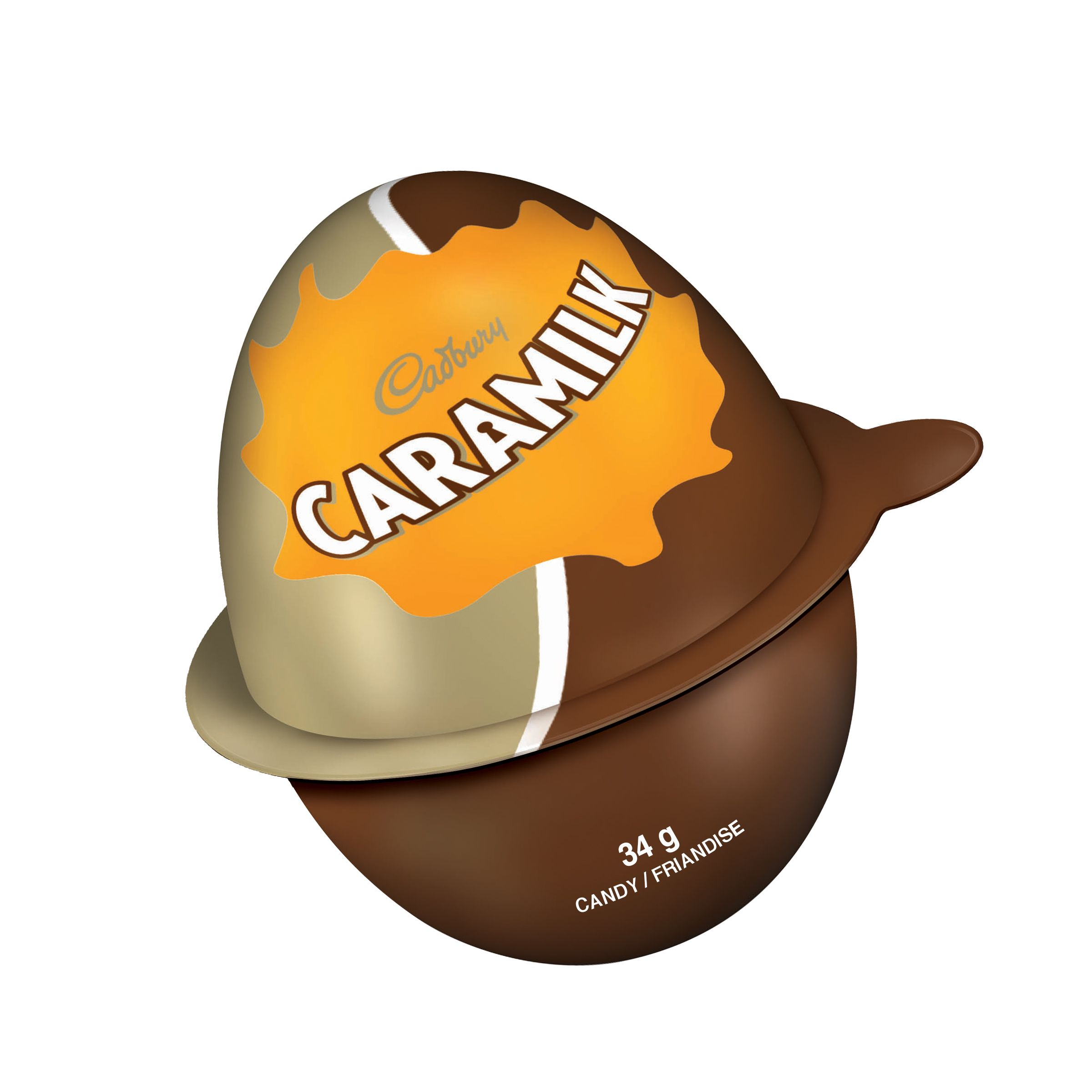 CARAMILK  FILLED EGG 34 GRM