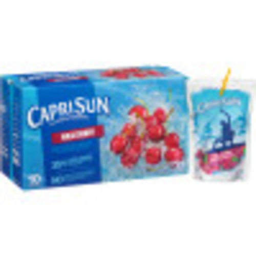 CAPRI SUN Wild Cherry Pouch, 6 oz. Pouches (Pack of 40)