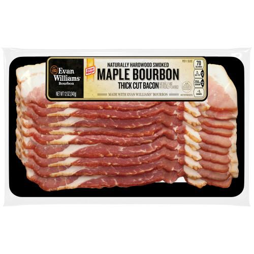 Oscar Mayer Bacon, Maple Bourbon, 12 oz