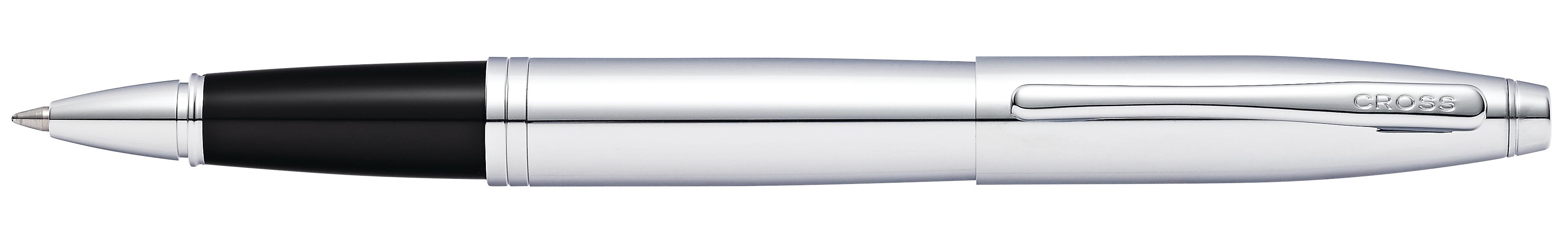 Calais Polished Chrome Rollerball Pen
