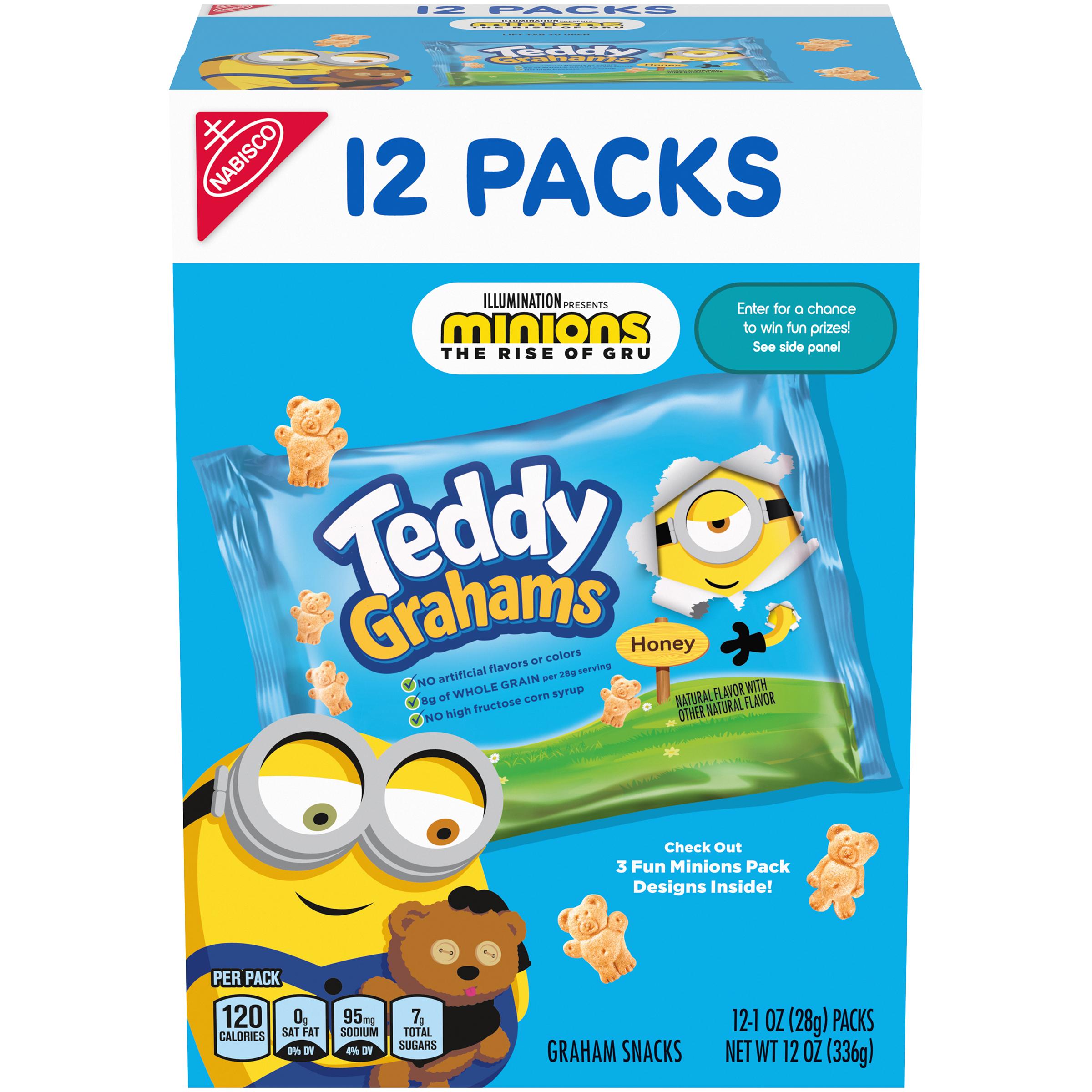 TEDDY GRAHAMS Teddy Grahams Cookies Biscuit 12 oz