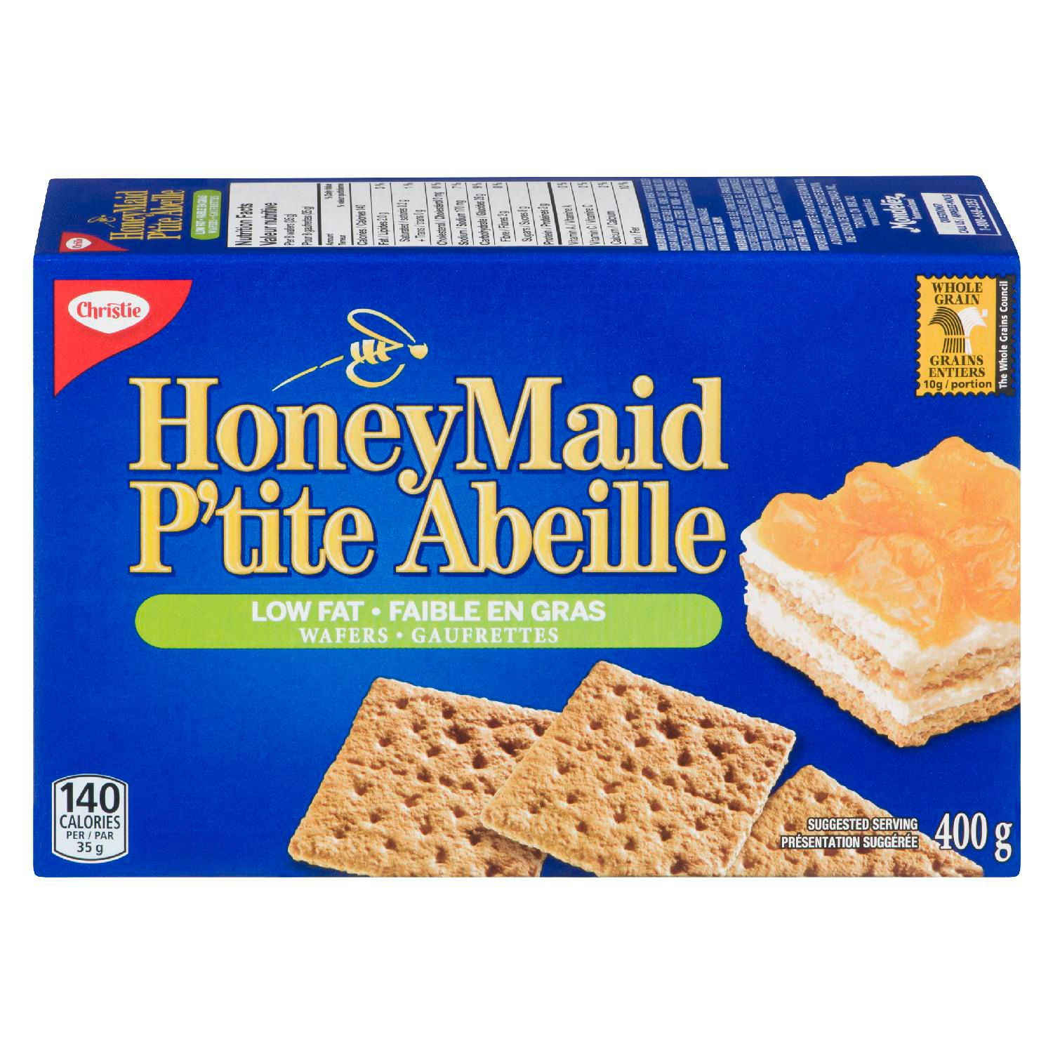 Honey Maid Graham Wafer - Low Fat 400 G
