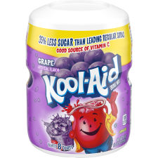 Kool-Aid Sugar-Sweetened Grape Powdered Soft Drink 19 oz Jar