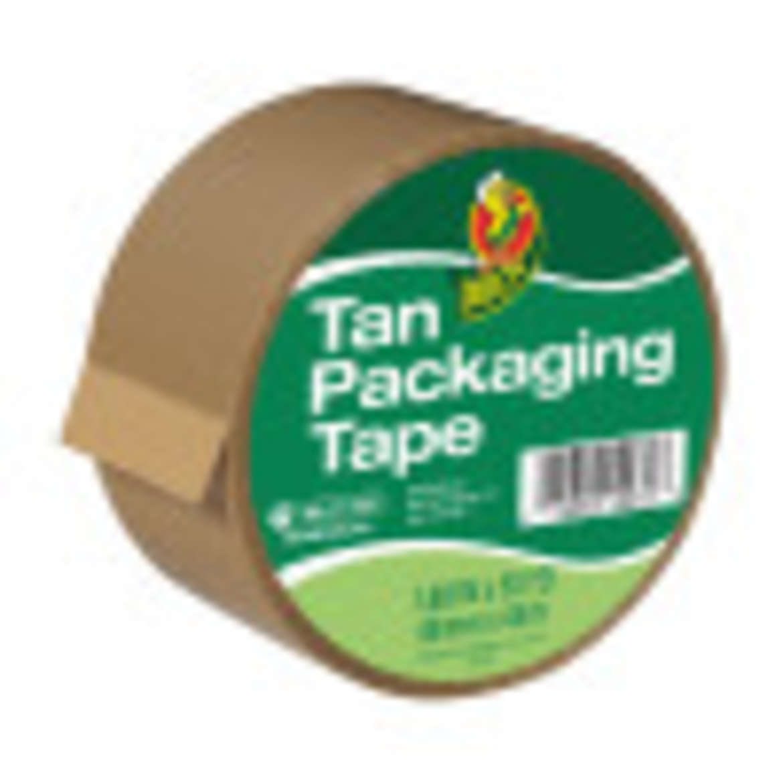 Duck® Brand Standard Packaging Tape - Tan, 1.88 in. x 50 yd. Image