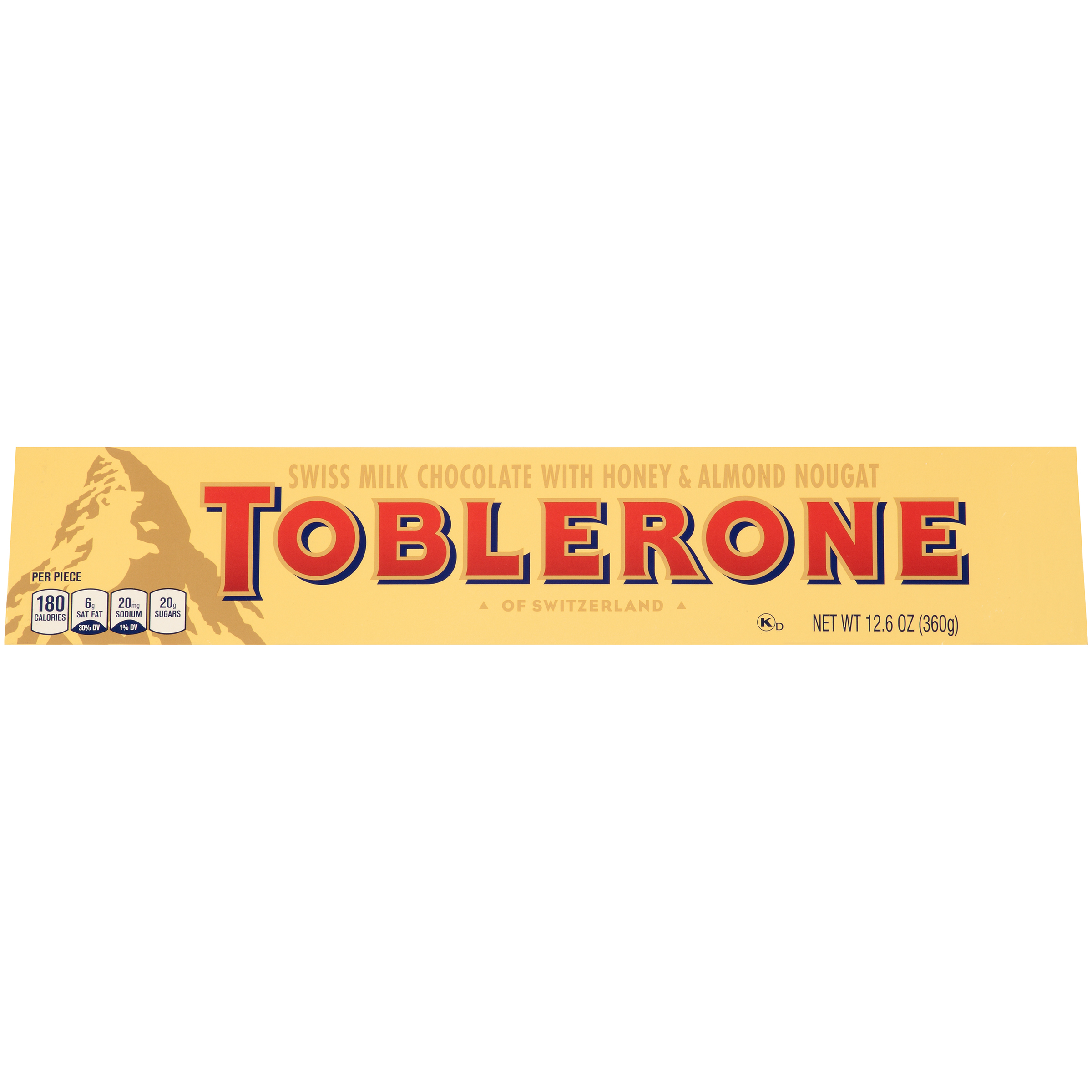 TOBLERONE Milk Chocolate Chocolate Bar 12.6 oz