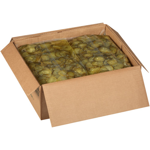 HEINZ Crinkle Chip Dill Pickles, 5.75 Lb. Pouch (Pack of 6)