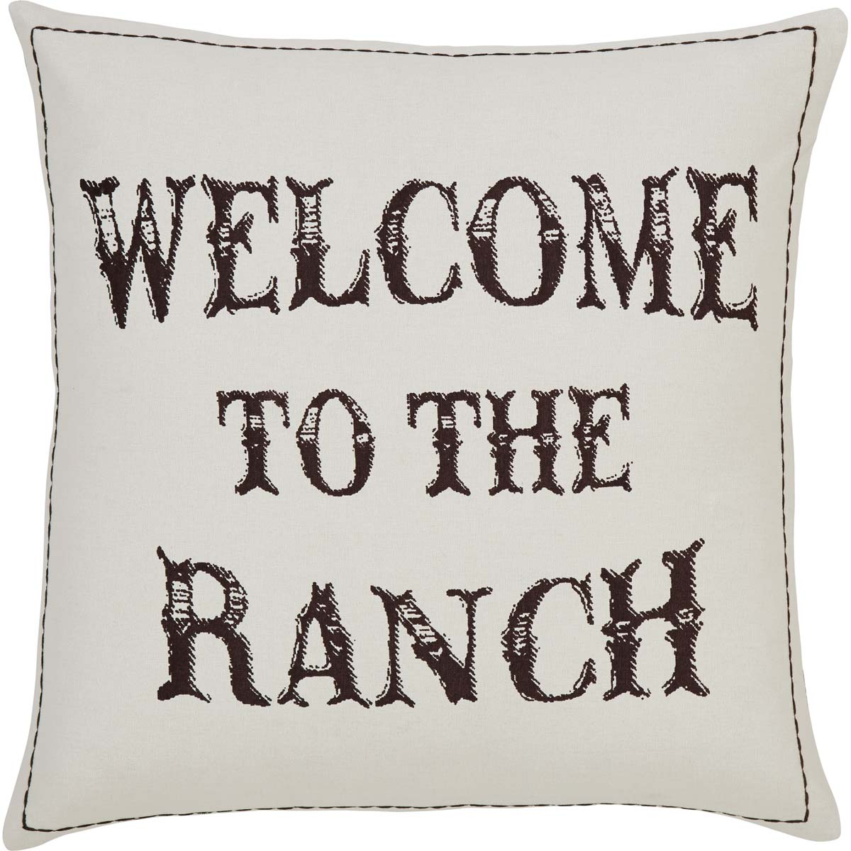 Welcome to the Ranch Pillow Cover 18x18