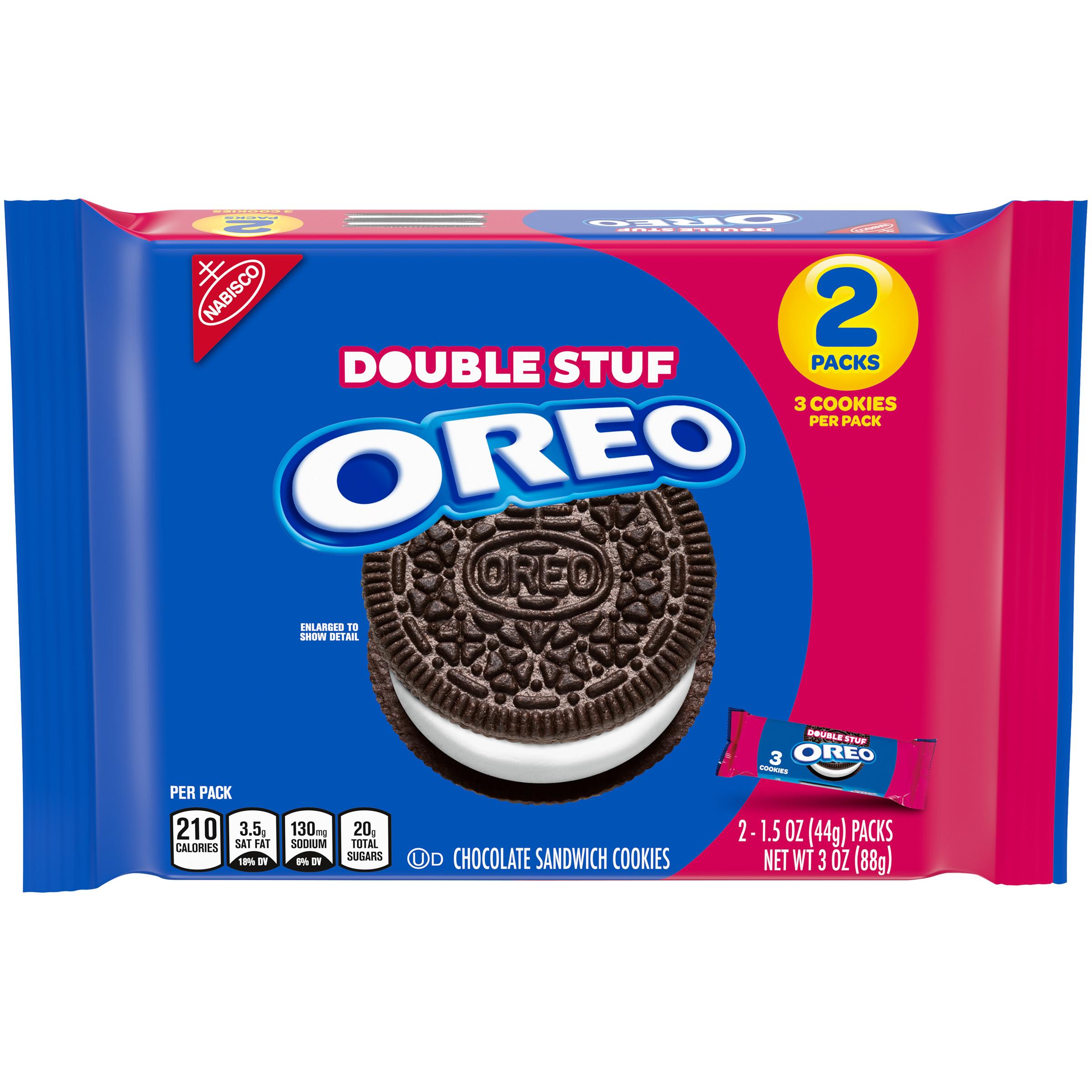 OREO Double Stuf Chocolate Cookies 3 oz