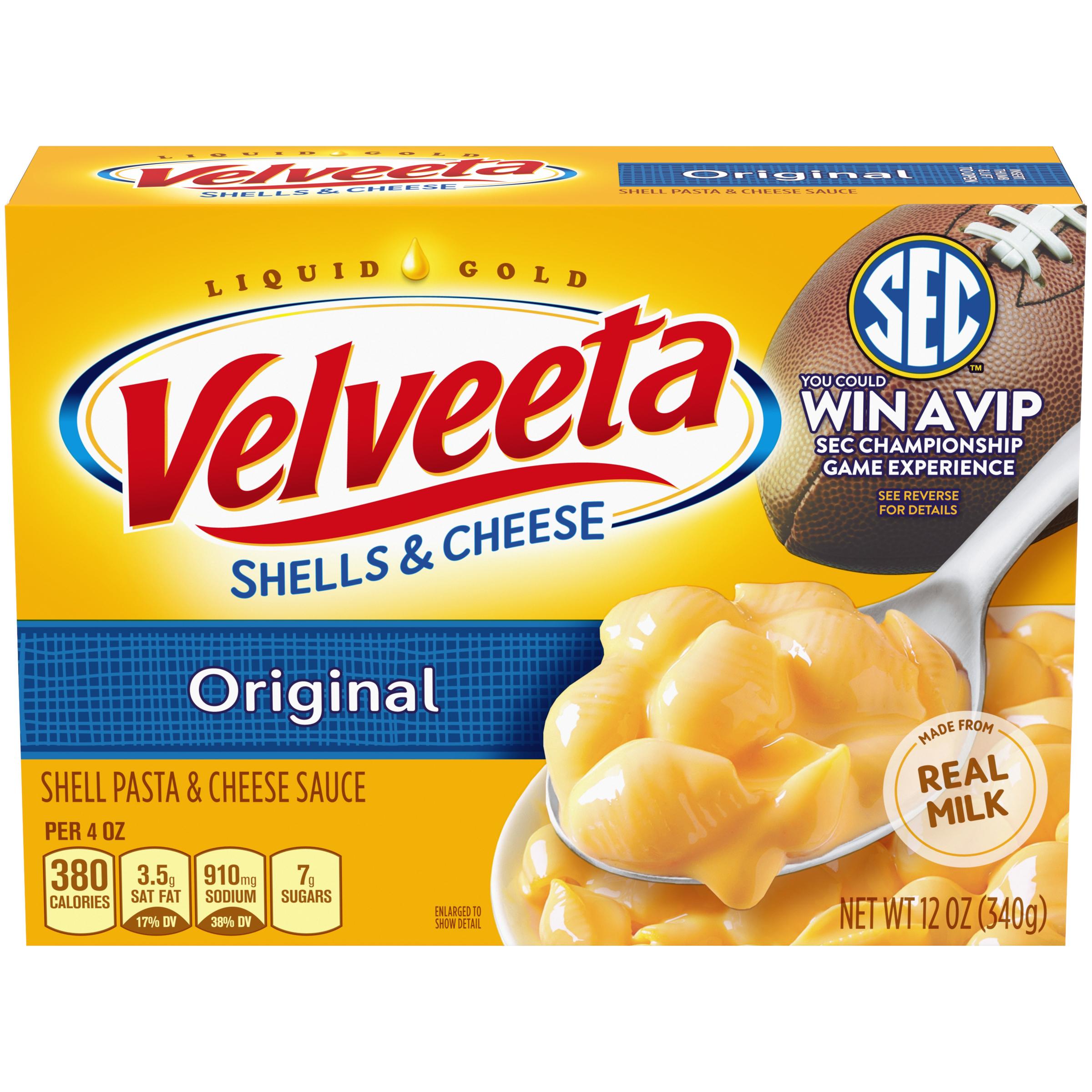 Kraft Velveeta Original Shells & Cheese 12 oz Box ...