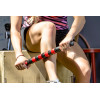 "ProSource Massage Stick Roller 18"" Handheld Portable Tool for Muscle Pain Relief"