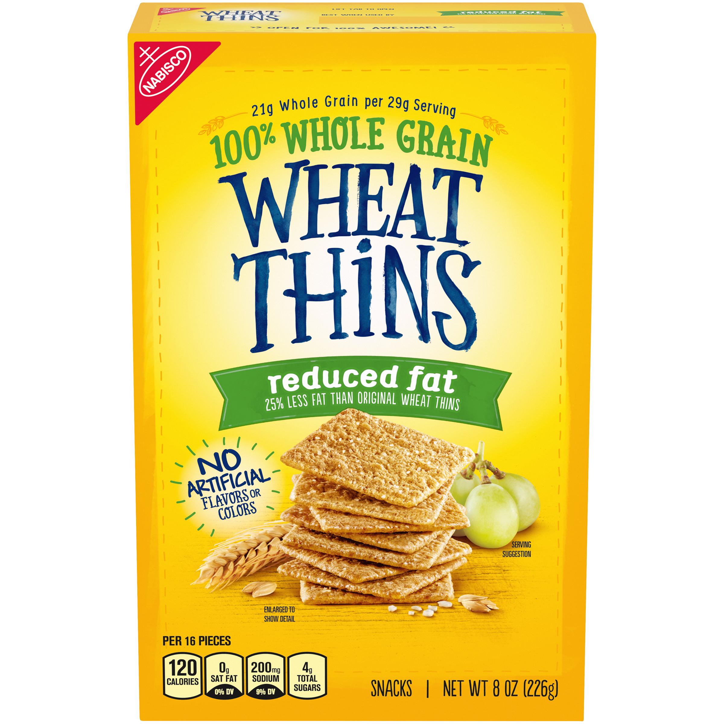 WHEAT THINS Original Crackers 8.0 Oz